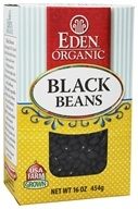 Eden Foods - Organic Dry Black Beans - 16 oz., from category: Health Foods