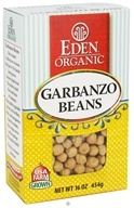Eden Foods - Organic Dry Garbanzo Beans - 16 oz., from category: Health Foods
