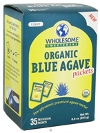 Wholesome Sweeteners - Organic Blue Agave - 35 Packet(s)