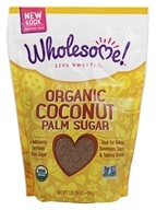 Wholesome Sweeteners - Organic Coconut Palm Sugar - 1 lb. by Wholesome Sweeteners