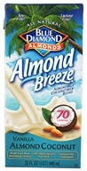 Image of Blue Diamond Growers - Breeze Almond Milk Vanilla Almond Coconut - 32 oz.