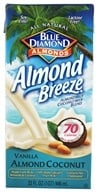 Blue Diamond Growers - Breeze Almond Milk Vanilla Almond Coconut - 32 oz.
