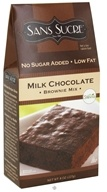 Image of Sans Sucre - Brownie Mix Milk Chocolate - 8 oz.