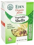 Eden Foods - Organic Pasta Vegetable Shells - 12 oz. (024182111194)