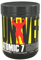Image of Universal Nutrition - Atomic 7 BCAA Performance Black Cherry Bomb 30 Servings - 386 Grams