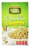 Nature's Earthly Choice - Easy Quinoa Roasted Garlic & Olive Oil - 4.8 oz.