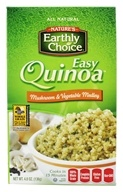 Nature's Earthly Choice - Easy Quinoa Mushroom and Vegetable Medley - 4.7 oz. (897034002304)