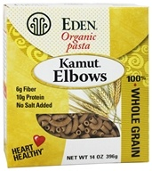 Eden Foods - Organic Pasta Kamut Elbows - 14 oz., from category: Health Foods