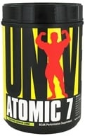 Image of Universal Nutrition - Atomic 7 BCAA Performance 'Lectric Lemon Lime 76 Servings - 1 kg.
