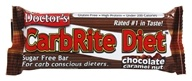Universal Nutrition - Doctor's CarbRite Diet Bar Chocolate Caramel Nut - 2 oz. - $1.50