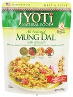 Jyoti Natural Foods - All Natural Mung Dal with Spinach - 10 oz. (077502300013)