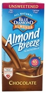 Blue Diamond Growers - Almond Breeze Almond Milk Unsweetened Chocolate - 32 oz. (041570054185)