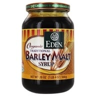 Eden Foods - Organic Traditional Barley Malt Syrup - 20 oz. by Eden Foods