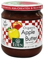 Eden Foods - Organic Apple Butter Spread - 17 oz. (024182000696)
