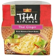 Thai Kitchen - Rice Noodle Soup Bowl Thai Ginger - 2.4 oz. (737628086009)
