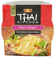 Thai Kitchen - Rice Noodle Soup Bowl Thai Ginger - 2.4 oz. by Thai Kitchen