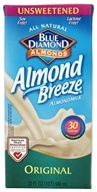 Blue Diamond Growers - Almond Breeze Almond Milk Unsweetened Original - 32 oz.
