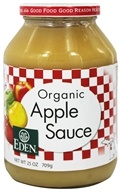 Eden Foods - Organic Apple Sauce - 25 oz., from category: Health Foods