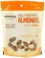 Woodstock Farms - All-Natural Almonds Roasted & Salted - 7.5 oz. - $5.45