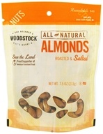 Woodstock Farms - All-Natural Almonds Roasted & Salted - 7.5 oz. by Woodstock Farms