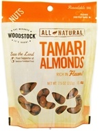 Woodstock Farms - All-Natural Tamari Almonds - 7.5 oz. by Woodstock Farms