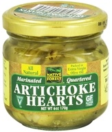 Native Forest - Artichoke Hearts Quartered & Marinated - 6 oz. by Native Forest