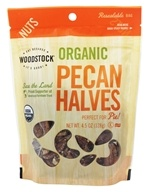 Woodstock Farms - Organic Pecan Halves - 4.5 oz. (042563012533)