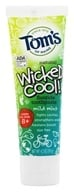 Tom's of Maine - Natural Toothpaste Wicked Cool Anticavity with Fluoride Mild Mint - 4.2 oz. by Tom's of Maine