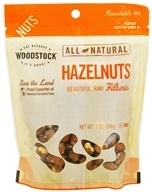 Image of Woodstock Farms - All-Natural Raw Shelled Hazelnuts - 7 oz.