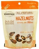 Woodstock Farms - All-Natural Raw Shelled Hazelnuts - 7 oz.