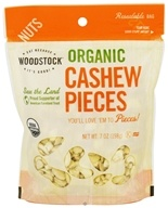 Woodstock Farms - Organic Cashew Pieces - 7 oz., from category: Health Foods