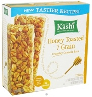 Image of Kashi - Crunchy Granola Bars Honey Toasted 7 Grain - 8.4 oz.