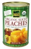 Native Forest - Peaches Sliced Organic - 15 oz. by Native Forest