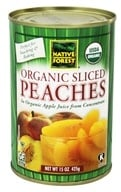 Native Forest - Peaches Sliced Organic - 15 oz. (043182008594)