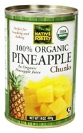 Native Forest - Pineapple Chunks Organic - 14 oz. (043182008518)