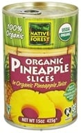Native Forest - Pineapple Slices Organic - 15 oz., from category: Health Foods