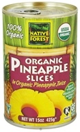 Native Forest - Pineapple Slices Organic - 15 oz. by Native Forest