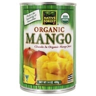 Image of Native Forest - Mango Chunks Organic - 14 oz.