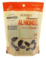 Woodstock Farms - All-Natural Almonds Roasted & Unsalted - 7.5 oz. by Woodstock Farms