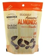 Image of Woodstock Farms - All-Natural Almonds Roasted & Unsalted - 7.5 oz.