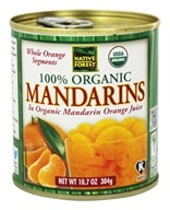 Native Forest - Mandarins Organic - 10.75 oz.