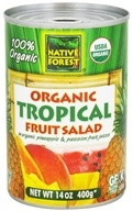 Native Forest - Tropical Fruit Salad Organic - 14 oz., from category: Health Foods