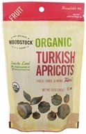 Image of Woodstock Farms - Organic Turkish Apricots - 10 oz.