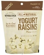 Image of Woodstock Farms - All-Natural Yogurt Raisins - 8.5 oz.