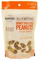 Woodstock Farms - All-Natural Honey Roasted Peanuts - 12 oz. (042563015909)
