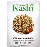 Kashi - Whole Grain Cereal 7 Whole Grain Puffs - 6.5 oz., from category: Health Foods