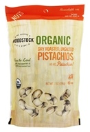 Woodstock Farms - Organic Pistachios Dry Roasted & Unsalted - 7 oz.