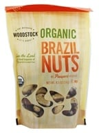 Woodstock Farms - Organic Brazil Nuts - 8.5 oz. (042563012519)