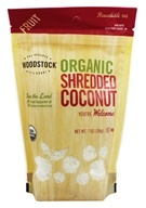 Image of Woodstock Farms - Organic Shredded Coconut - 7 oz.