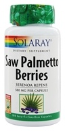 Solaray - Saw Palmetto Berries 580 mg. - 100 Capsules